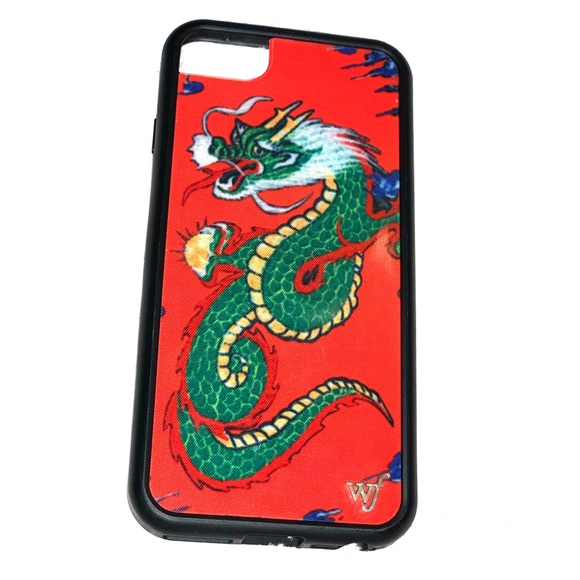 los angeles bb839 d8bdc Red Dragon WILDFLOWER Case